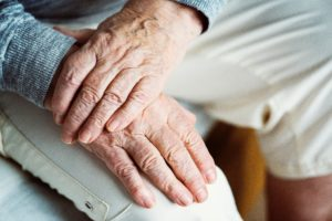 Image of hands folded